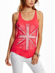 GUESS Therasia London Graphic Tank