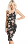 GUESS Olivia Cowl Floral Dress
