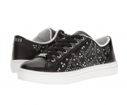 GUESS Jacalin Perforated Cutout Detail Lace-Up  Sneakers