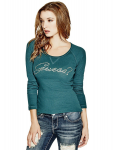 GUESS Janine Long-Sleeve Top