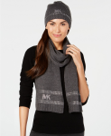 MICHAEL Michael Kors 2-Pc. Studded Hat & Scarf Gift Set