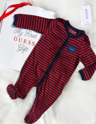 GUESS Footed Coverall Gift-Set